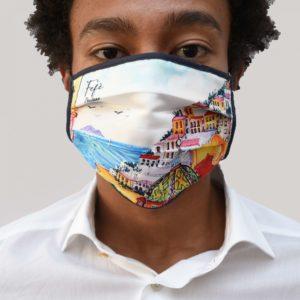 mascherina Fefè anti covid lavabile in seta